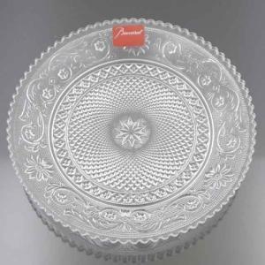 展示品 バカラ アラベスク プレート 皿 浮彫 クリスタル 食器 shop-brandreshopfuji