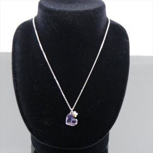 美品スワロフスキー ネックレス シルバー ハート クリスタル|shop-brandreshopfuji
