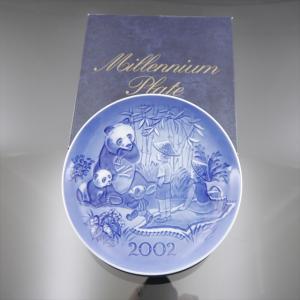 美品 ロイヤルコペンハーゲン 希少 ミレニアム プレート 2002|shop-brandreshopfuji