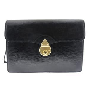 バーバリー セカンドバッグ レザ― ブラック メンズ 鞄|shop-brandreshopfuji