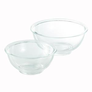 耐熱ガラス製 クラルテ クッキングボウル 2点セット CTB-20|shop-e-zakkaya