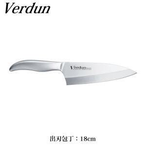 オールステンレス 一体成形ハンドル ヴェルダン 出刃包丁 18cm OVD-154 日本製
