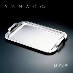 「YAMACO」リッチ 18-8ステンレス サービストレー 18インチ RC-04 日本製 配膳 業務用 shop-e-zakkaya