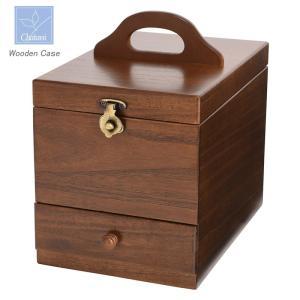 「メイクボックス」木製コスメティックボックス 17-513茶谷産業(化粧箱)(ギフト)(御祝)(日本製)(包装無料)|shop-e-zakkaya