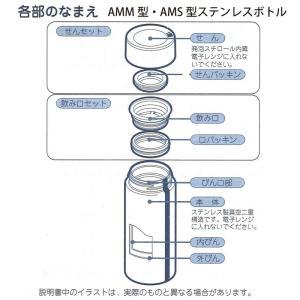 ピーコック水筒部品 マグタイプ用 AMM せんパッキン口パッキンセット|shop-e-zakkaya|02