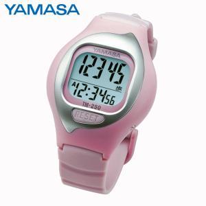 「ヤマサ 万歩計」NEWとけい万歩 TM-250Pピンク(左手首上面装着専用)(山佐時計計器)|shop-e-zakkaya