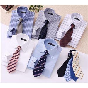 ワイシャツ14点セット S デザイナーズセレクト ドゥエボットーニ〔ブルーシャツ〕14点セット|shop-easu01