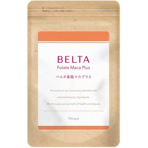 マカ 女性 妊活 葉酸 サプリ サプリメント ベルタ葉酸マカプラス 1袋 送料込み
