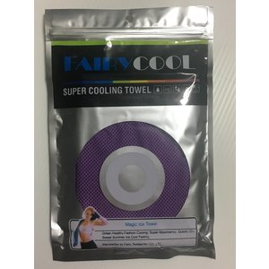 FAIRY COOL タオル/SUPER COOLING TOWEL /冷感/冷却 /熱中症対策/ スポーツ /アウトドア/ 全国一律送料164円クリックポスト