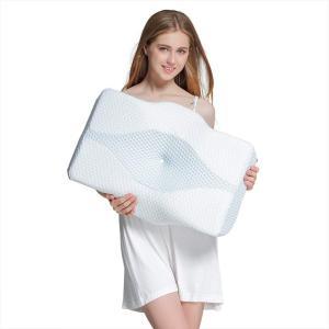 MyeFoam 新世代 枕 低反発 枕 肩こり 枕 安眠 人気 安眠枕 横向き寝 頚椎安定 呼吸が楽 通気性抜群 洗える 抗菌 防臭|shop-frontier