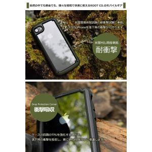 ROOT CO. iPhone8 iPhone7 バンパータイプ 耐衝撃 カバー Gravity S...