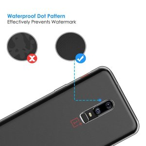 Gosento OnePlus 6 ケース 高品質 クリスタル クリア 透明 TPU素材 保護カバー...