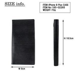ポーターPORTER BILL BRIDLE ビルブライドル iPhoneケース iPhone8Plus 185-02265 ネイビー/50|shop-frontier
