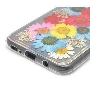 PLATA Galaxy S8+ SC-03J / SCV35 ケース 押し花 ソフト カバー ギャラクシーs8+ 1 DSC03J-61-|shop-frontier