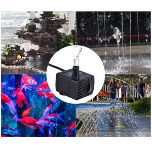 Decdeal DC 5V USB ミニ 水中ポンプ ブラシレス 循環 水槽の噴水 超低音 リフト0.7M 120L / H|shop-frontier