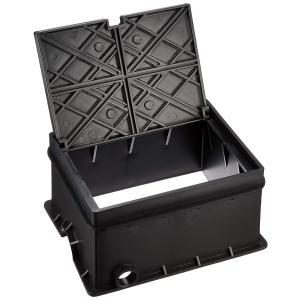 SANEI 屋内外の散水栓用ボックス床面用 ブラック R81-8-D|shop-frontier