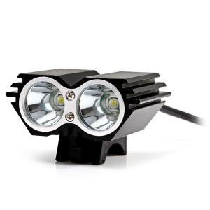 Marsing X2 自転車ライト+ヘッドライト 6500K LED 2x Cree XM-L U2 高輝度 2000ルーメン 4モード(3|shop-frontier
