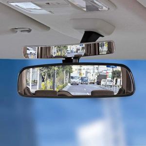 ナポレックス 車用補助ミラー スリムサブミラー 左右後方の死角防止 ベゼルレスタイプ 角度調整可能 300mmRの広角ミラー ステー取付 汎|shop-frontier