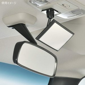 カーメイト 車用 ルームミラー ミニ ブラック CZ409|shop-frontier