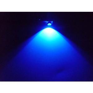 トヨタ汎用/純正交換用LEDインナーランプ・フットランプ/青 ブルー/2個セット グローブボックス 足元灯 車内灯 ルームランプ イルミネー|shop-frontier