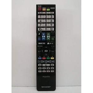 シャープ(SHARP)液晶テレビ 純正リモコン GB080WJSA(0106380437)|shop-frontier