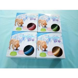 ペット用食器 ペットボウル 犬猫用餌 ペット氷の碗、温度を下げる効果があります、温度を下げる効果を持って、冷たい水や食品の鮮度保持させること|shop-frontier