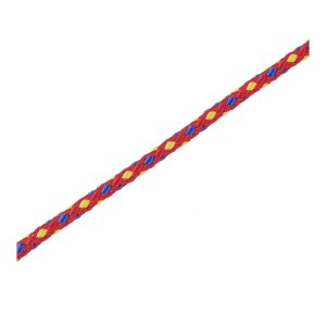キャプテンスタッグ(CAPTAIN STAG) キャンプ カラー テント ロープ 紐 径3.5mm×20m レッドM-3255|shop-frontier