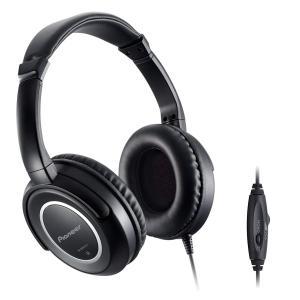 パイオニア Pioneer SE-M631TV ヘッドホン 密閉型/オーバーイヤー ブラック SE-M631TV 国内正規品|shop-frontier