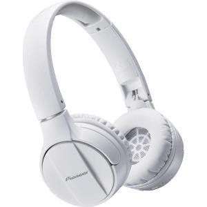 パイオニア Pioneer SE-MJ553BT Bluetoothヘッドホン 折りたたみ可 ホワイト SE-MJ553BT-W 国内正規品|shop-frontier