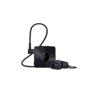SONY カナル型ワイヤレスイヤホン Bluetooth対応 リモコン・マイク付 ブラック SBH20/B|shop-frontier