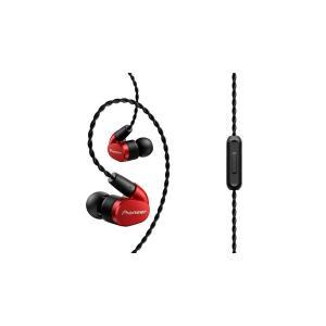 パイオニア Pioneer SE-CH5T イヤホン カナル型/ハイレゾ対応 レッド SE-CH5T-R 国内正規品|shop-frontier