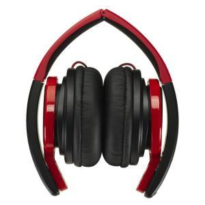 JVC HA-S200-BR 密閉型ヘッドホン 折りたたみ式 DJユースモデル ブラック&レッド|shop-frontier