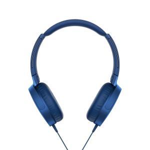 ソニー SONY ヘッドホン 重低音モデル MDR-XB550AP : 折りたたみ式 リモコン・マイ...