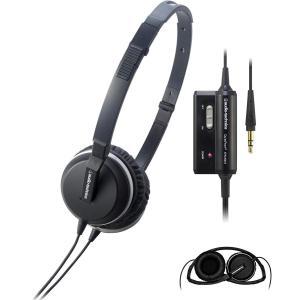 audio-technica QuietPoint 密閉型オンイヤーヘッドホン ノイズキャンセリング ブラック ATH-ANC1 IM|shop-frontier
