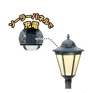 高儀 Verde Garden LED レトロガーデンライト ソーラー充電タイプ シングル 小 GLT-110|shop-frontier