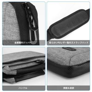 ProCase 13 ? 13.5インチ Laptop用バッグ メッセンジャーショルダーバッグ ブリ...