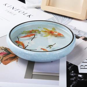 レジン 封入素材 フィルム シート 金魚イラスト 水草 夏 和風金魚鉢 (金魚篇)|shop-frontier