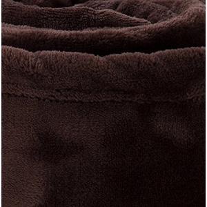 mofua ( モフア ) 毛布 プレミアムマイクロファイバー セミダブル ブラウン 50000206 shop-frontier