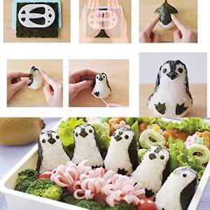 簡単 水族館 の人気者 ペンギン の おにぎりセット お弁当グッズ ペンギンおにぎりベビー デコ弁 キャラ弁 オリジナルメモセット ( ペン|shop-frontier