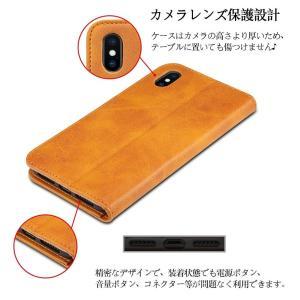iPhone Xs Max ケース 手帳型 iPhone Xs Max ケース - Rssviss 高級PUレザー TPU 革ケース Qi充 shop-frontier