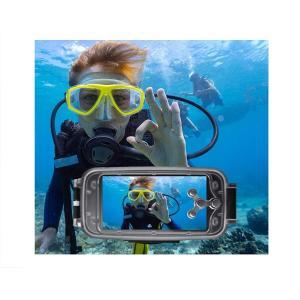 Elecguru 水中ケース 水中撮影 防水ケース 防護ケースカバー iPhone 6/6s Plus専用 ダイビングハウジング 40m/1|shop-frontier