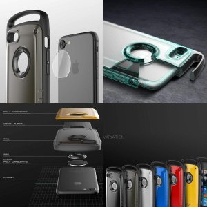 ROOT CO.iPhone7 iPhone8 ケース 耐衝撃 GRAVITY Shock Resist Case Pro. (マットホワイ|shop-frontier