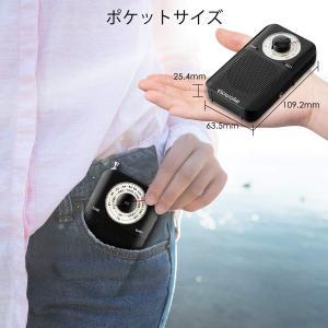 SAWAKE ポケットラジオ 軽量ラジオ AM/FM/ワイド対応 オーム電機 高感度 手動調整 電池...