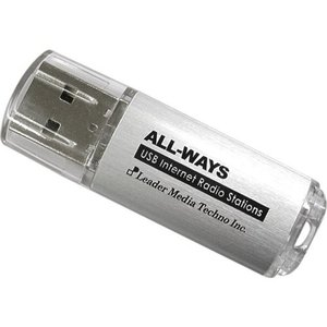 ALL-WAYS インターネットラジオステーション 録音:HDD録音本体録音不可ブリスターケース入り IRS-AW|shop-frontier