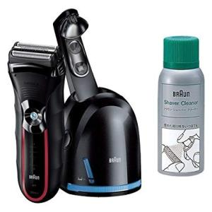 ブラウン シェーバー シリーズ3 アルコール洗浄システム・3段階充電表示+洗浄表示 シェーバークリーナーセット 350cc-5RP|shop-frontier