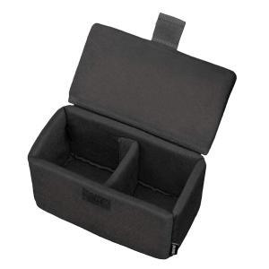 HAKUBA カメラバッグ インナーソフトボックス 200 ブラック 取り外し可能なフタ付き KCS-39-200BK shop-frontier