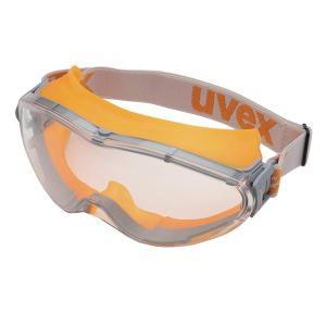 ウベックス ゴーグル X-9302 合成ゴムバンド オレンジ (ハードコート、防曇加工)