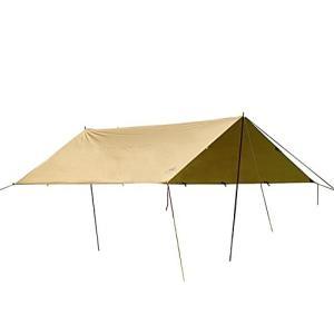 キャンプグリーブ3F UL GEAR レクタ タープ カーキ 3m×3m 4m×3m 5m×3m 自...