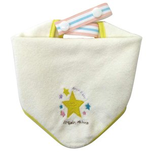 Angel's ribbon エンジェルズリボン・タオル&ビブ スター|shop-frontier