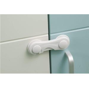 ベビーガード 指はさみ防止ドアロックストッパー 多機能 地震対策 とびらロック キャビネットストッパ...